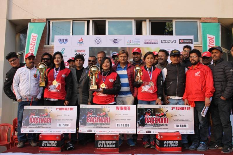 रेसनारी सम्पन्न, दीक्षा बनिन् विजेता