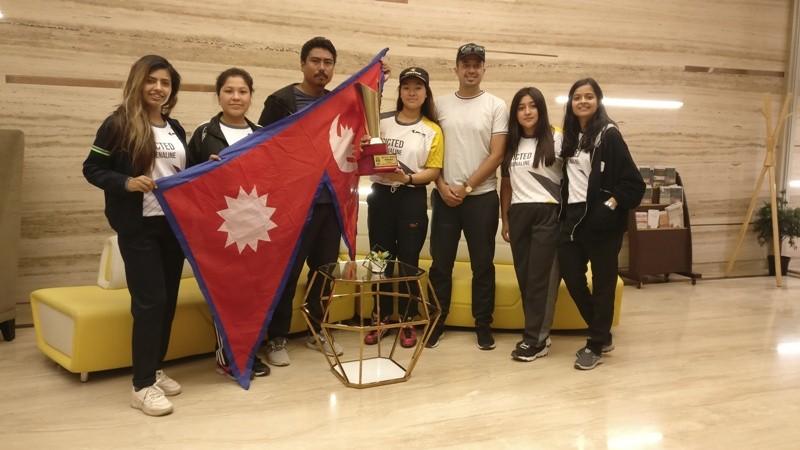 नेपाली महिला कार्ट्स ड्राइभर सुनिता बनिन् भारतमा विजयी