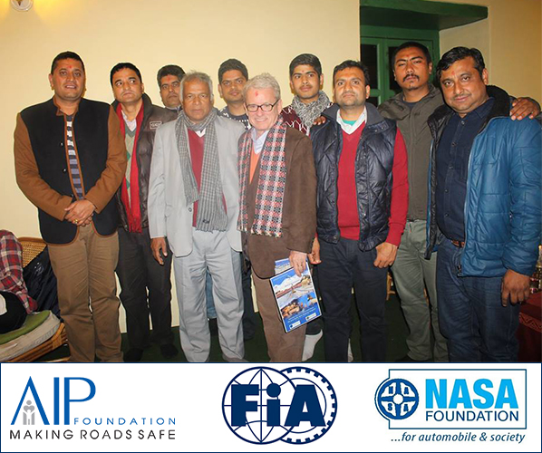 AIP Foundation and NASA Foundation together for Road safety in Nepal