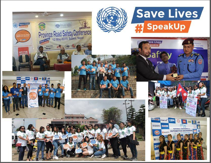 Fifth UN Global Road Safety Week in Nepal