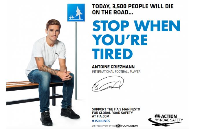 THE VINCI AUTOROUTES FOUNDATION SUPPORTS THE FIA #3500LIVES CAMPAIGN